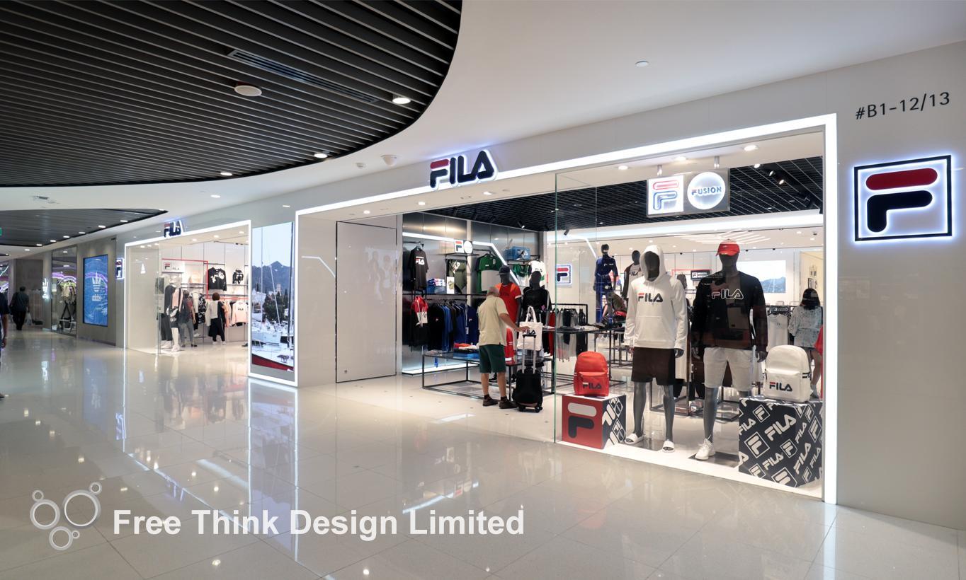 7f49944e1b ShopFILA. Location. Vivocity, Singapore. Area. 2530sf